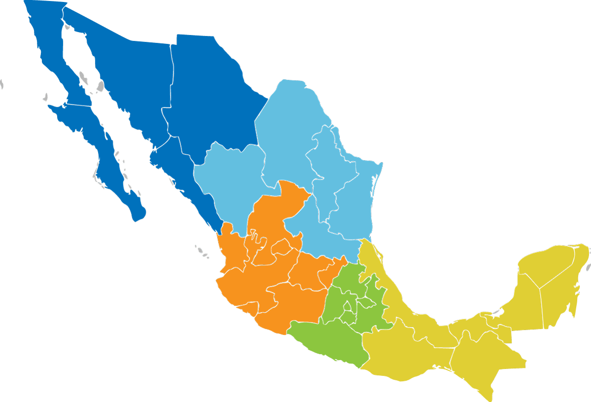 Mapa de Comunidades de Talento por Zona
