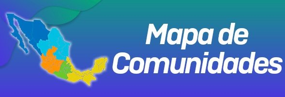 Mapa de Comunidades del País